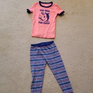 Oshkosh B'Gosh Toddler Boy 4T Pajama Set